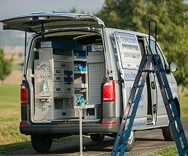 Fahrzeugeinrichtung|Dach-& Leiterträger