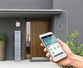 Zutrittskontrolle|SmartHome|Türtechnik|Brief-|Paketboxanlagen
