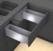 Blum Legrabox Spülenschrank - Frontauszug - C