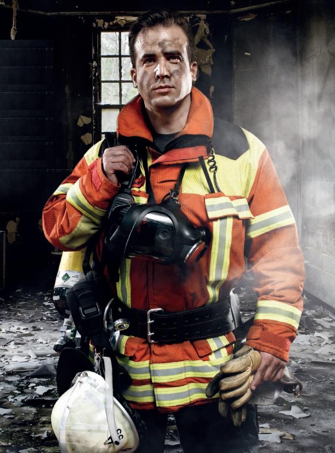 Raum nach Wohnungsbrand