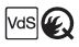 Q-Prüfzeichen und VdS-Prüfzeichen
