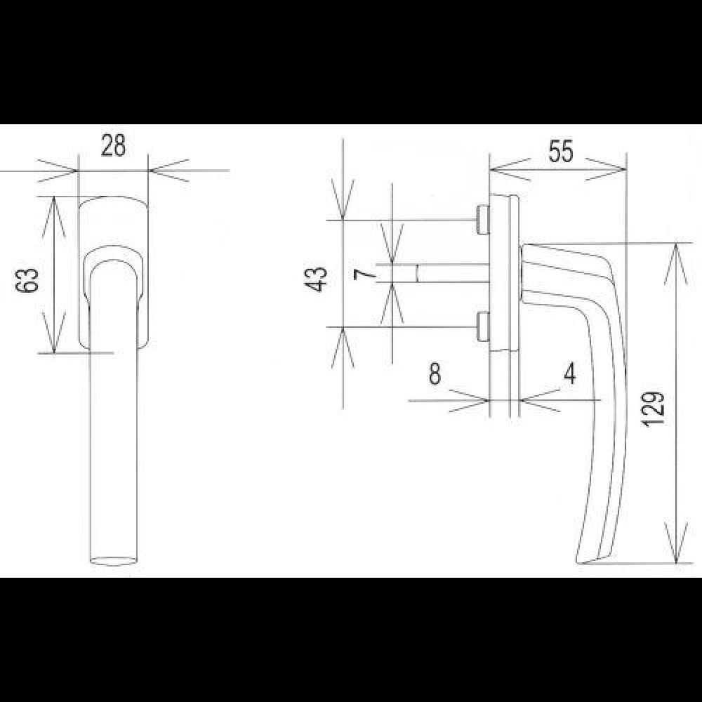 horn online fenstergriff harmony f1 10 35 mm 1661229 baubeschlag katalog 2016 17 1 alles. Black Bedroom Furniture Sets. Home Design Ideas