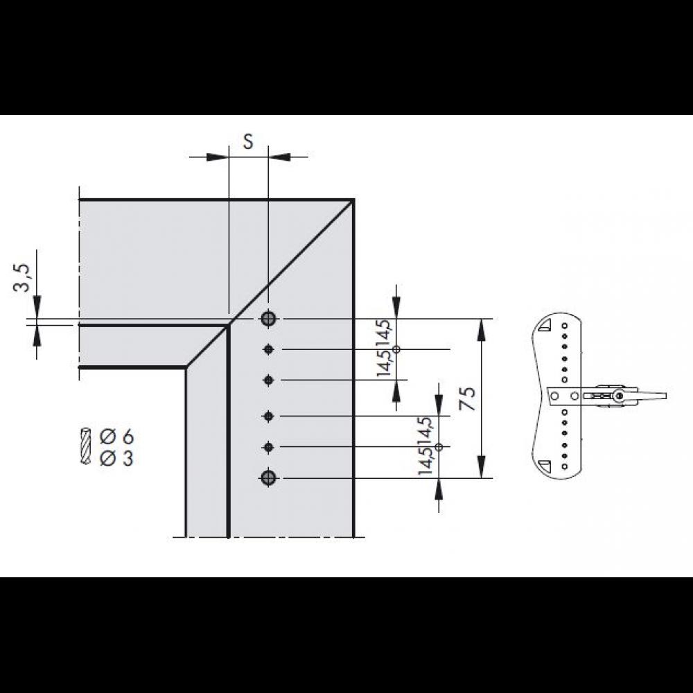 horn online siegenia scherenlager kf d6x8 silber tbsl6150 100 siegenia aubi m1741204 nach. Black Bedroom Furniture Sets. Home Design Ideas