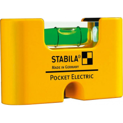Mini-Wasserwaage Pocket Electric 7cm Stabila