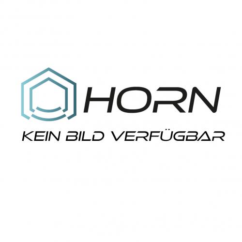 Horn Online Design Tischbein Abena 1100mm Stahl Geburstet