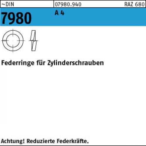 Sprengringe Federringe verzinkt Sicherungsringe DIN 127 B Federstahl galv